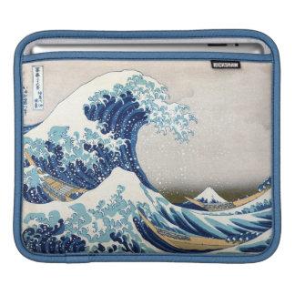 Great Wave Off Kanagawa Vintage Japanese Fine Sleeve For iPads