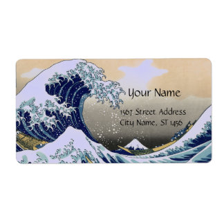 GREAT WAVE SHIPPING LABEL