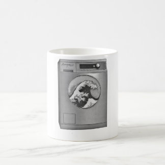 Great wave Washing machine Coffee Mug