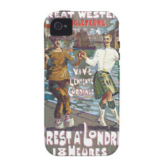 Great Western Railway, Brut a Londres Travel Vibe iPhone 4 Case
