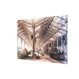 Great Western Railway: Freight shed at Bristol Canvas Print
