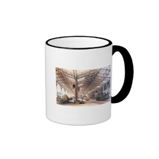 Great Western Railway: Freight shed at Bristol Ringer Coffee Mug