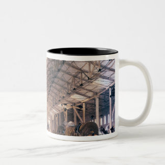 Great Western Railway: Freight shed at Bristol Two-Tone Coffee Mug