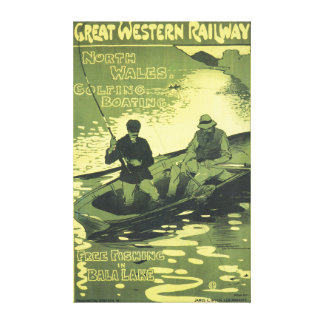 Great western railway north wales canvas print
