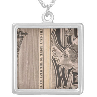 Great Western Railway Silver Plated Necklace