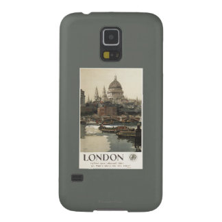 Great Western Railway St. Paul's Travel Poster Cases For Galaxy S5