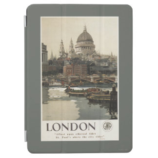 Great Western Railway St. Paul's Travel Poster iPad Air Cover