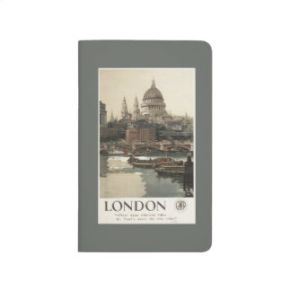 Great Western Railway St. Paul's Travel Poster Journal