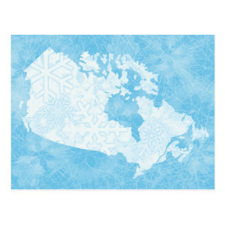 Great White North of Canada - Frozen! Postcard