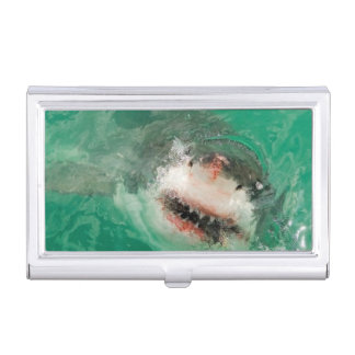 Great White Shark1 Business Card Holder