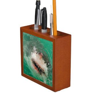 Great White Shark1 Desk Organiser