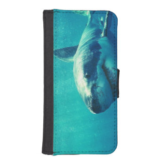 GREAT WHITE SHARK 1 iPhone SE/5/5s WALLET CASE