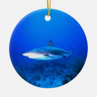 Great White Shark 2 Sided Ornament