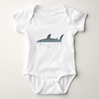 Great White Shark Baby Bodysuit
