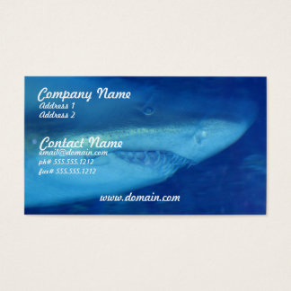 Great White Shark Business Card