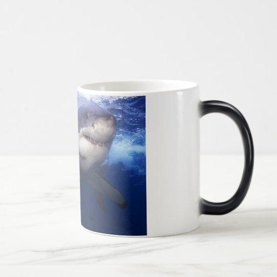 Great White Shark Colour Change Coffee Mug