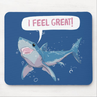 Great White Shark feels Great Mouse Mat