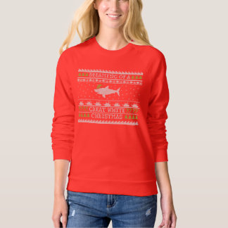 Great White Shark Funny Ugly Sweater