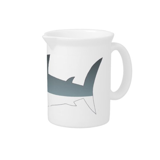 Great White Shark Jug / Pitcher by Shark Tease