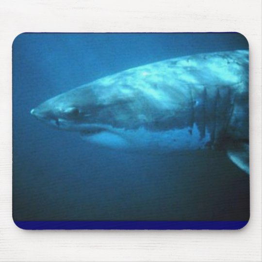 Great White Shark Mouse Mat