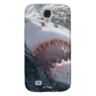 Great White Shark on sea Galaxy S4 Case