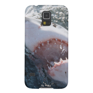 Great White Shark on sea Galaxy S5 Case