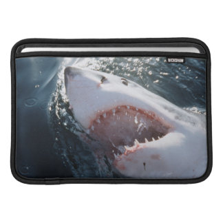Great White Shark on sea Sleeve For MacBook Air
