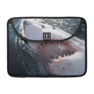 Great White Shark on sea Sleeve For MacBooks