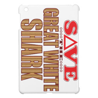 Great White Shark Save Cover For The iPad Mini