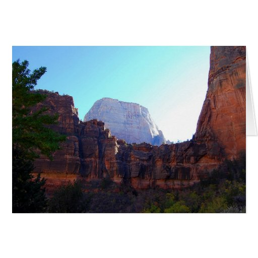 Great White Throne, Zion, Card