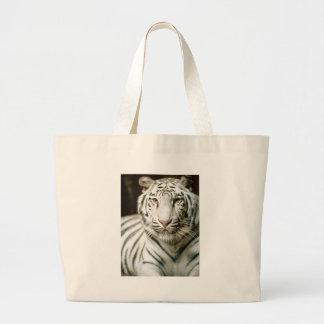 Great white tiger beach bag