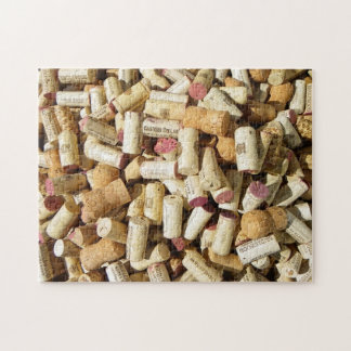 Great Wine Cork Puzzle! Jigsaw Puzzle