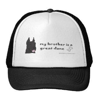 GreatDaneBlackBrother Cap