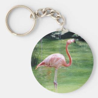 Greater Flamingo Key Ring