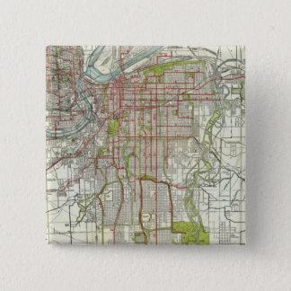 Greater Kansas City 15 Cm Square Badge