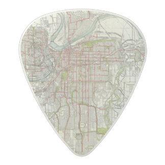 Greater Kansas City Acetal Guitar Pick