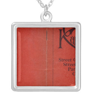 Greater Kansas City Silver Plated Necklace