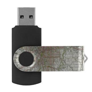Greater Kansas City Swivel USB 2.0 Flash Drive