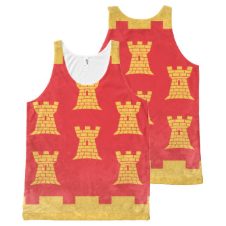 Greater Manchester All-Over Print Tank Top