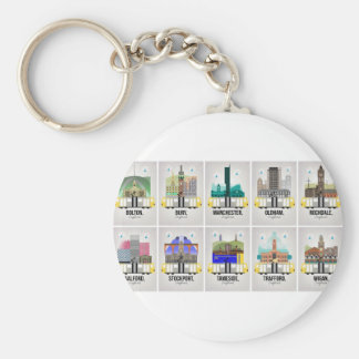 Greater Manchester Key Ring