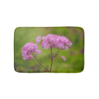 Greater Meadow-rue Flower Bath Mat
