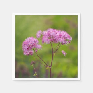 Greater Meadow-Rue Paper Napkins