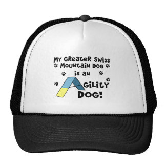 Greater Swiss Mountain Dog Agility Dog Trucker Hat