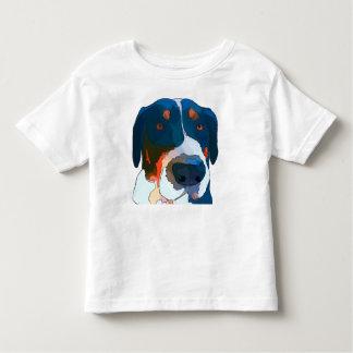 Greater Swiss Mountain Dog Art Toddler T-Shirt