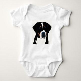 Greater Swiss Mountain Dog Baby Bodysuit
