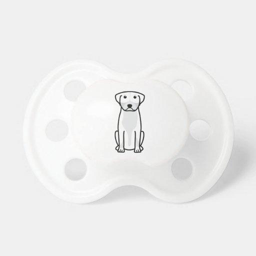 Greater Swiss Mountain Dog Cartoon Baby Pacifier