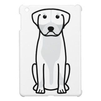 Greater Swiss Mountain Dog Cartoon iPad Mini Cover