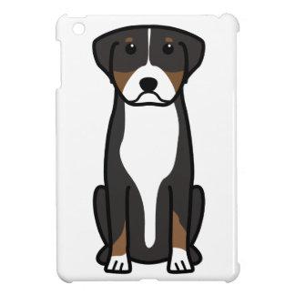 Greater Swiss Mountain Dog Cartoon iPad Mini Covers