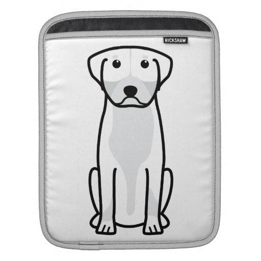 Greater Swiss Mountain Dog Cartoon Sleeve For iPads