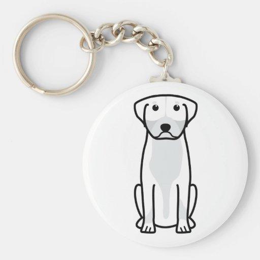 Greater Swiss Mountain Dog Cartoon Keychains